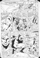 PATTON, CHUCK - Justice League America #236 pg 18, Aquaman, Martian Manhunter, Zatanna + new team Comic Art