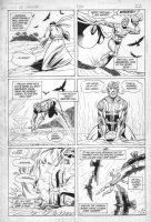 PATTON, CHUCK - DC Challenge #2 pg 22,  Aquaman out of water Comic Art