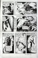 BARRY, DAN? - All Select #2 - Timely story lrg pg 11, Submariner kills dragon 1943 Comic Art