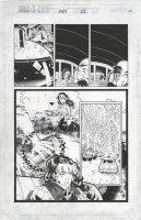 BACHALO, CHRIS / TOWNSEND - Uncanny X-Men #354 pg 22, Rogue flashback montage, Wolverine Comic Art