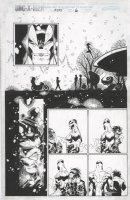 BACHALO, CHRIS / TOWNSEND - Uncanny X-Men #355 pg 6, Wolverine faces Alpha Flight Comic Art