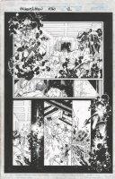 BACHALO, CHRIS / TOWNSEND - Uncanny X-Men #360 pg 12, Night-Crawler returns Comic Art