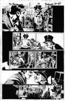 BACHALO, CHRIS - Dr Strange #1 pg 19, 1st issue - Doc & mages: Scarlet Witch, Bro Voodoo, Shaman, Monako (Timely WW2) Comic Art