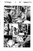 BACHALO, CHRIS - Dr Strange #1 pg 24, 1st issue - Doc finds mind-maggot on Zelma Stanton 1st app. Comic Art