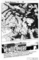 BACHALO, CHRIS / TOWNSEND - Dark Reign: Sinister Spider-Man #2 splash - Venom Comic Art