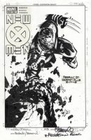 BACHALO, CHRIS & TIM TOWNSEND both signed - X-Men #145 cover recreation, Wolverine, drawn 2006 Comic Art