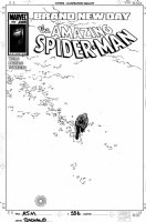 BACHALO, CHRIS - Amazing Spiderman #556 cover,  Comic Art