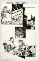 BACHALO, CHRIS / TOWNSEND - Uncanny X-Men #358 pg, Bushop, Deathbird & 1st app. Karel Comic Art