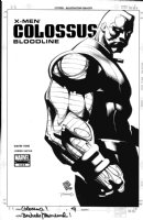 CHRIS BACHALO / TIM TOWNSEND - XMen Colossus #4 cover Comic Art