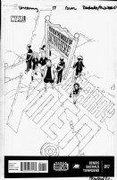 BACHALO, CHRIS / TIM TOWNSEND - Uncanny X-Men #17 cover, Magik & X-Men in training Comic Art