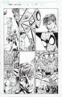BAGLEY, MARK - Ultimate Spider-Man vs Hulk promo comic # pg 17, Spider-Man and Bruce Banner  Comic Art