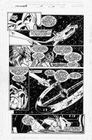 BAGLEY, MARK - Thunderbolts #12 pg 10, cross-over issue Comic Art