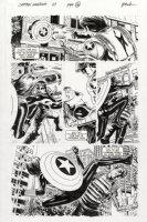 EPTING, STEVE - Captain America #27 pg 16, Winter Soldier vs Black Widow Comic Art