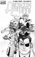 CHAYKIN, HOWARD - Avengers 1959 #1  cover,  Nick Fury, Sabertooth, Blonde Phantom, Namora, Kraven, Fortune Comic Art