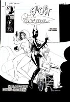 BENJAMIN, RYAN - Ghost / Batgirl #2 1st Cover, New Batgirl + Oracle Barbara Gordon 2000 Comic Art