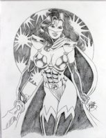 PHIPPS, ROBB - Mantra of Ultraverse pinup Comic Art