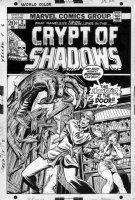 EVERETT, BILL / STARLIN, JIM - Crypt of Shadows #2 cover, monster horror Comic Art