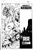 PHAM, KHOI - Mighty Avengers #36 cover, Ultron vs Hank Pym Comic Art