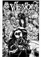 LIGHTLE, STEVE - Venom The Hunger #1 cover, Venom in a swarm of monsters Comic Art