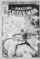 MILLER, FRANK - Amazing Spiderman #203 cover, Spidey & early Dazzler Comic Art