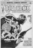 BUCKLER, RICH - Astonishing Tales #36 cover, Deathlock - final issue  Comic Art