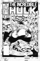 GEIGER, STEVE / BOB McLEOD - Incredible Hulk #339 cover, McFarlane series Comic Art