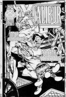 JONES, CASEY - Excaliber #106 cover, Colossus Comic Art