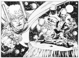 LAYTON, BOB - Hercules graphic novel cover,  Full wrap cover version Comic Art