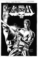 JURGENS, DAN / JERRY ORDWAY - Punisher #1 cover Dynamic Forces edition Comic Art