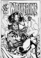 SKROCE, STEVE - Wolverine #153 cover, Wolvie, Yukio Comic Art