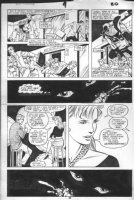 DRAKE, STAN / JUNE BRIGMAN - Solo Avengers #9 pg 20, Hell-Cat / Patsy Walker stalked by Mad-Dog Comic Art