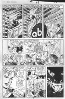 DRAKE, STAN / JUNE BRIGMAN - Solo Avengers #9 pg 19, Hell-Cat / Patsy Walker, Avengers / Defenders displayed Comic Art