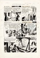 DOMINGUEZ, LUIS - Four Color #1255 large Dell pg 29, Wonders of Aladdin film by Mario Bava -1961 Comic Art