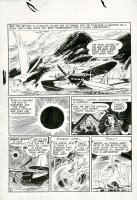 KUBERT, JOE - Flash Comics #97 lrg pg 2, Carter & Shiera Hall / Hawkman & Hawk-Woman 1948 Comic Art