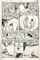 STONE, CHIC - Adv. Into Unknown #169 ACG lrg pg; Nemesis tricks Hitler, saves WW2 '66 Comic Art