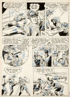 DILLIN, DICK - Whiz Comics #117 2up pg, Lance O'Casey in crocked prison  Fawcett, 1950 Comic Art