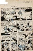 DILLIN, DICK - Whiz Comics #119 2up pg, Lance O'Casey as bull-fighter - Fawcett, 1950 Comic Art
