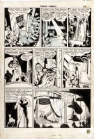 KOTZKY, ALEX with EISNER? - Police Comics #13 lrg pg 3, Manhunter 1942 Comic Art