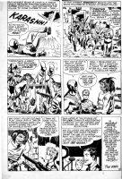 SIMON, JOE with JACK KIRBY - Fighting American #2 larger last pg 6, 1950s Patriotic hero 1965-66 Comic Art
