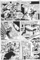 GRAHAM, BILLY / GEORGE TUSKA - Luke Cage, Hero For Hire #8 pg 17, Power Man Comic Art