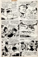 McWILLIAMS, AL - Savage Combat Tales #4 pg 2, Atlas 12 pg Story, General Patton uses decoy for Sicily 1975 Comic Art