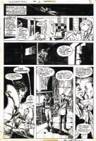 CHAYKIN, HOWIE & WRIGHTSON / KALUTA / SIMONSON - Scorpion #2 pg 8, Scorp grills Limey 1975 Comic Art