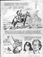 GIOLITTI, ALBERTO - Beneath Planet of the Apes GK pg 1, splash 1970 Comic Art