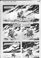 GIOLITTI, ALBERTO - Beneath Planet of the Apes GK pg 3, 1970 Comic Art