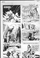 GIOLITTI, ALBERTO - Beneath Planet of the Apes GK pg 4, 1970 Comic Art