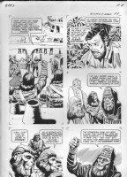 GIOLITTI, ALBERTO - Beneath Planet of the Apes GK pg 8, 1970 Comic Art