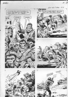 GIOLITTI, ALBERTO - Beneath Planet of the Apes GK pg 9, 1970 Comic Art