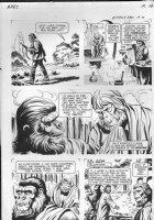GIOLITTI, ALBERTO - Beneath Planet of the Apes GK pg 10, 1970 Comic Art
