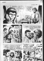 GIOLITTI, ALBERTO - Beneath Planet of the Apes GK pg 11, 1970 Comic Art