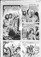 GIOLITTI, ALBERTO - Beneath Planet of the Apes GK pg 13, 1970 Comic Art